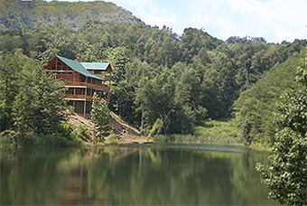 bear lake lodge 4 bedroom pet friendly cabin Pigeon Forge by Great Outdoor Rentals