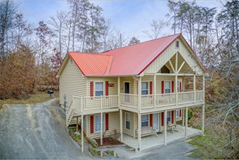 bearly in the mountains 5 bedroom pet friendly cabin Pigeon Forge by American Patriot Getaways