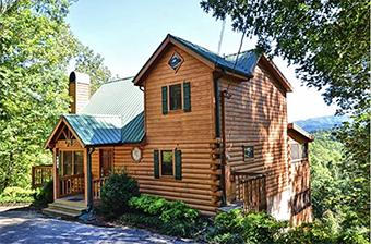 big elk lodge 5 bedroom pet friendly cabin Pigeon Forge by Great Outdoor Rentals