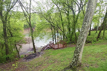 blue heron landing 4  bedroom pet friendly cabin on douglas lake by Lakefront Cabins