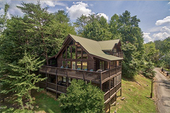 mountain music 5 bedroom pet friendly cabin Pigeon Forge by American Patriot Getaways