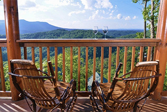 mountain views 4 bedroom pet friendly cabin Pigeon Forge by Cabins for You
