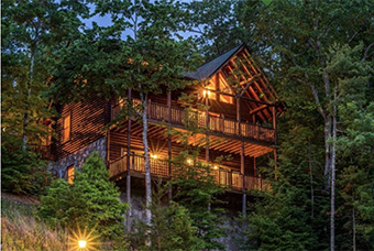papa bear lodge 5 bedroom pet friendly cabin Pigeon Forge by Cabins for You