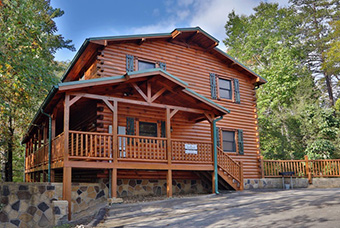 smoky bear manor 5 bedroom pet friendly cabin Pigeon Forge by Eden Crest Vacation Rentals