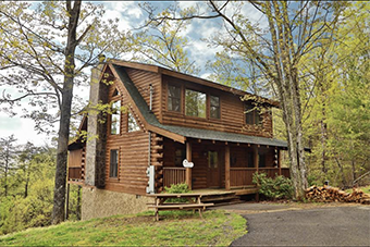 snowshoe lodge 3 bedroom pet friendly cabin in Sevierville by Little Valley Mouontain Resort