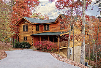 Southern Splendor 4 bedroom pet friendly cabin Pigeon Forge by Little Valley Mountain Resort