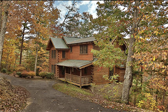 unto these hills 4 bedroom pet friendly cabin Pigeon Forge by Little Valley Mountain Resort