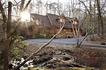 aidens escape 4 bedroom pet friendly cabin in Gatlinburg by Stony Brook Lodging