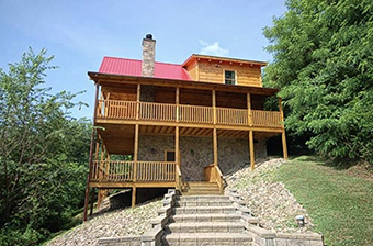 aint no mountain high enough 2 bedroom pet friendly cabin in Pigeon Forge by Great Outdoor Rentals