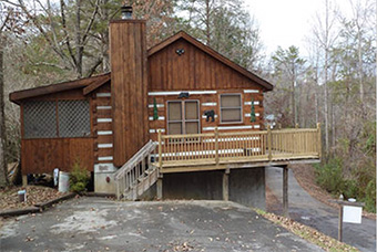 bear country 2 bedroom pet friendly cabin in Pigeon Forge by Great Outdoor Rentals