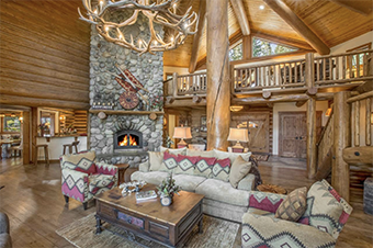 bear view lake view lodge 6 bedroom pet friendly cabin north lake tahoe by Tahoe Getaways