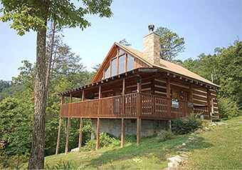 bearfootin 2 bedroom pet friendly cabin in Pigeon Forge by Great Outdoor Rentals