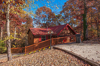eagles den 2 bedroom pet friendly cabin in Pigeon Forge by Fireside Chalets