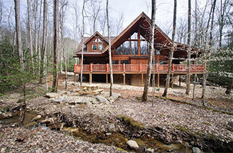 emmas place 4 bedroom pet friendly cabin in Gatlinburg by Stony Brook Lodging