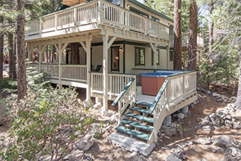 forest retreat 4  bedroom pet friendly cabin north lake tahoe by Agate Bay Realty