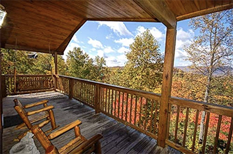 honey bear 2 bedroom pet friendly cabin in Pigeon Forge by Great Outdoor Rentals