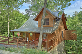 jasmines retreat 1 bedroom pet friendly cabin in Wears Valley by Cabin USA