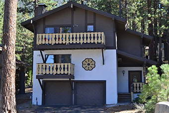 pine hill 2 bedroom pet friendly cabin south lake tahoe by Tahoe Rental Connection