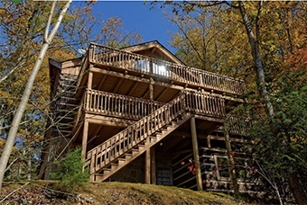 powdermill lodge 5 bedroom pet friendly cabin in Gatlinburg by Cabins for You