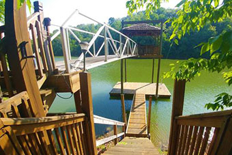 roberts retreat 1 bedroom pet friendly cabin on douglas lake