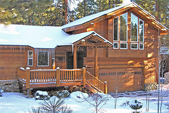 snowed inn 4 bedroom pet friendly cabin north lake tahoe by Waters of Tahoe