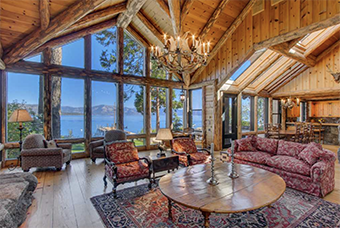 sweetwater estate 6 bedroom pet friendly cabin south lake tahoe by Tahoe Luxury Properties