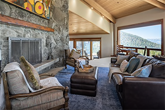tahoe blue estate 6 bedroom pet friendly cabin south lake tahoe by Luxury Retreats