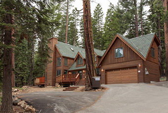 tallac lodge 6 bedroom pet friendly cabin north lake tahoe by Agate Bay