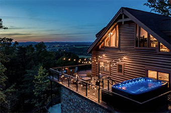 tanglewood mountain lodge 8 bedroom pet friendly cabin in Gatlinburg by Stony Brook Lodging
